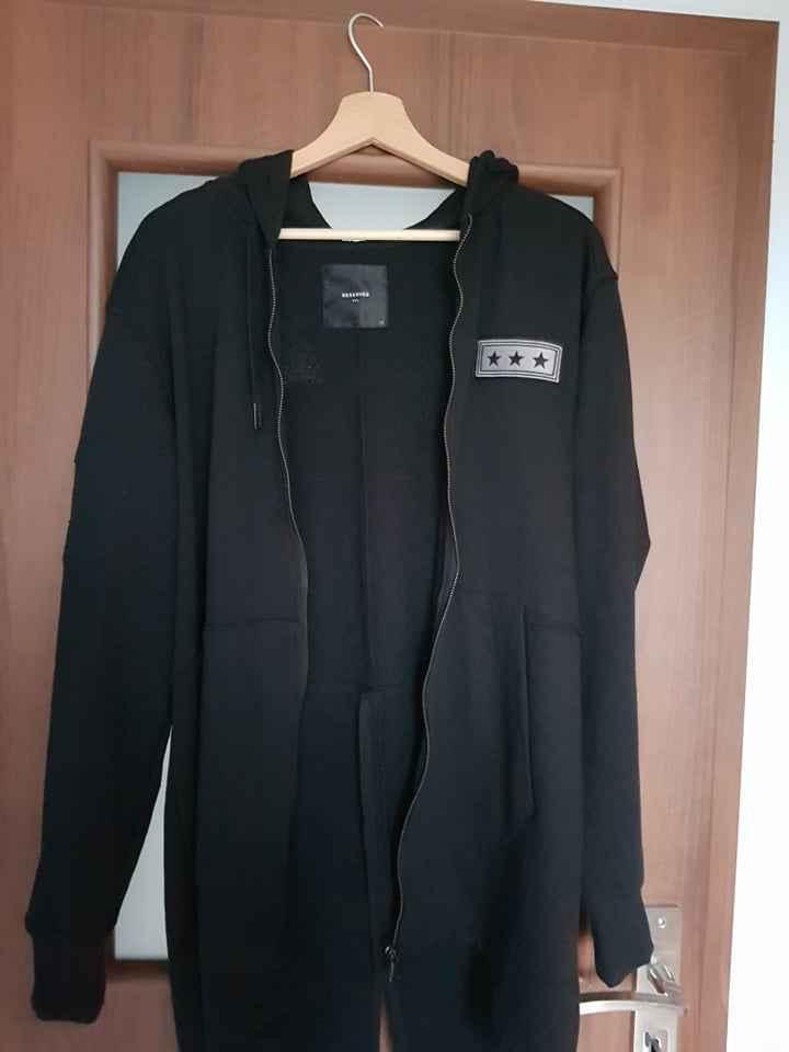 Bluza czarna młodzieżowa Reserved-uniw.-roz.164-176-tanio Gdańsk Letni Gdańsk - zdjęcie 2