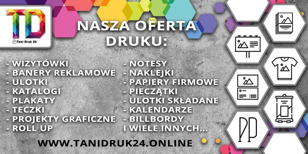 TaniDruk24 - drukarnia internetowa - wizytówki, banery itd Białystok - zdjęcie 1