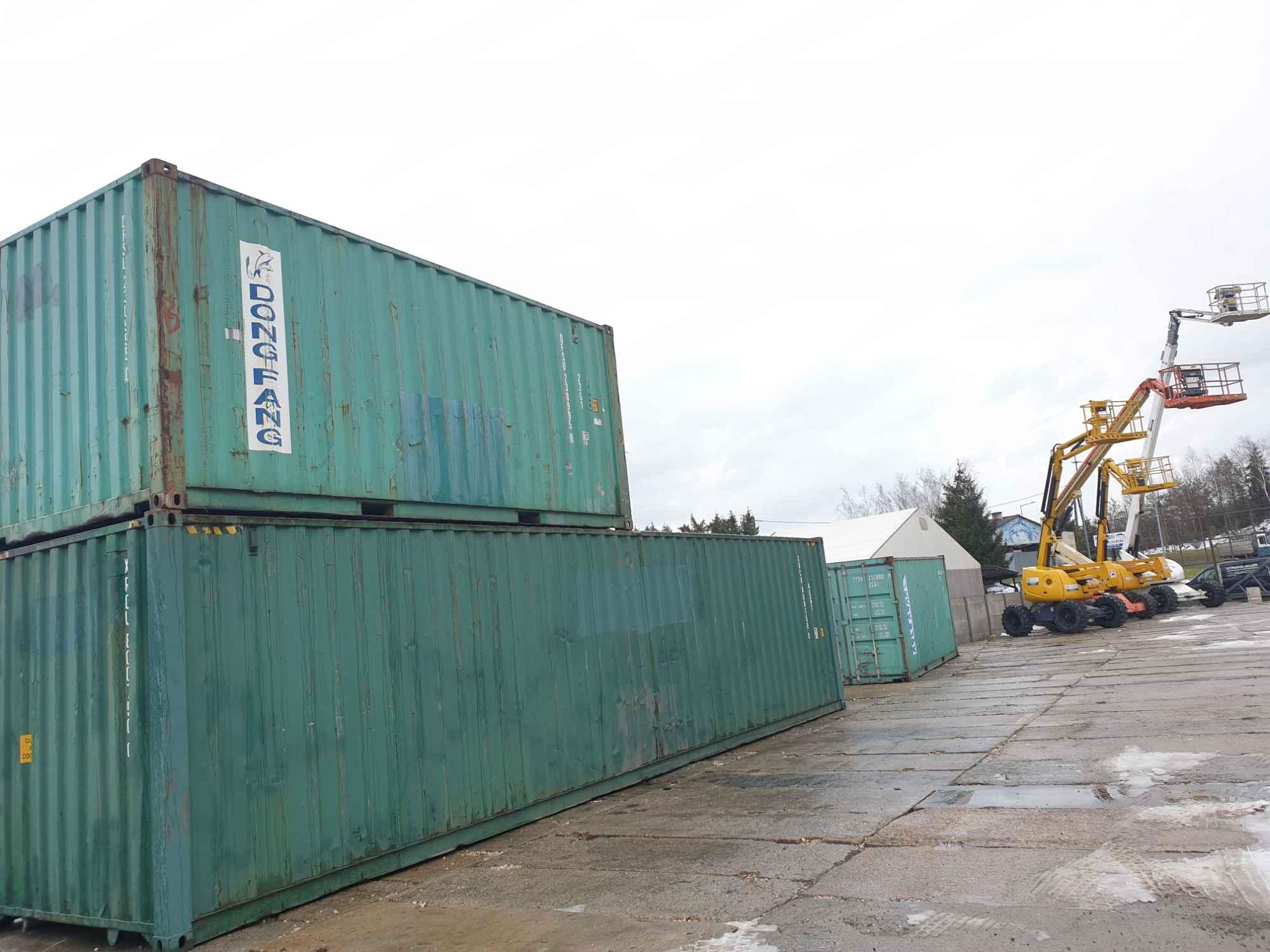 Sprzedaż kontenerów morskich Krosno Brzozów Iwonicz Rymanów Sanok Jasło - zdjęcie 2