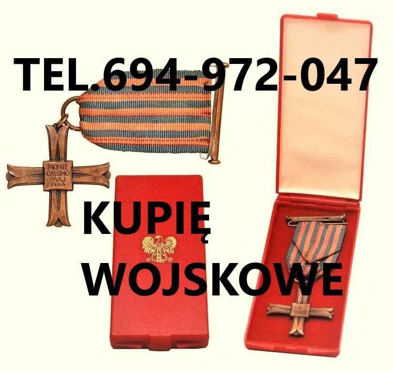 KUPIE WOJSKOWE STARE ODZNACZENIA,ODZNAKI,MEDALE,ORDERY Katowice - zdjęcie 1