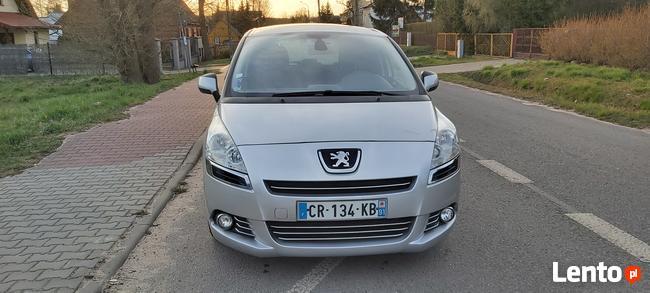 Peugeot 5008 1,6 e-HDI 112KM 2013r zarejestrowany Skarżysko-Kamienna - zdjęcie 3