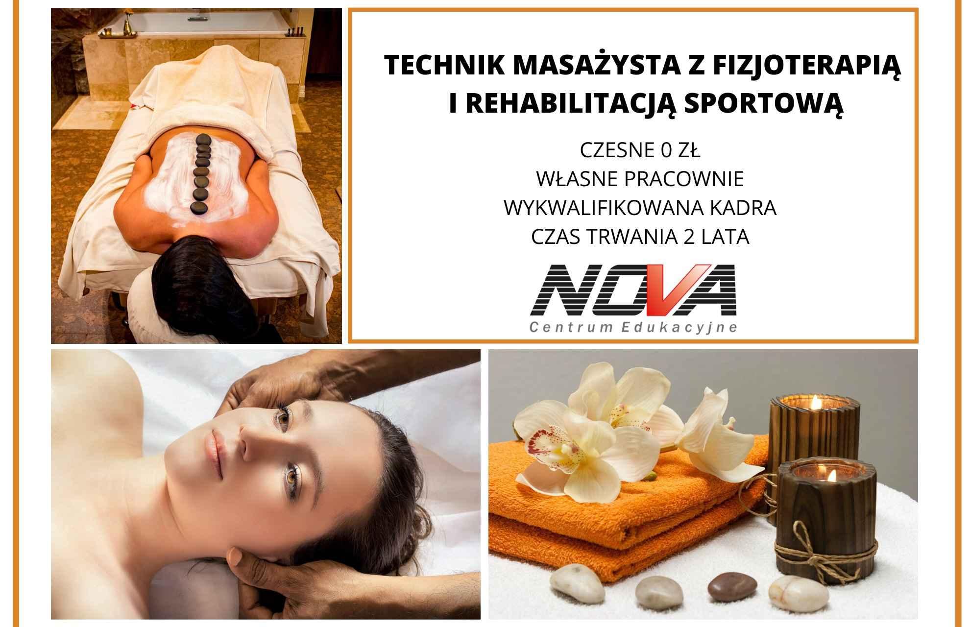 Technik masażysta nauka BEZ CZESNEGO! Lublin - zdjęcie 1