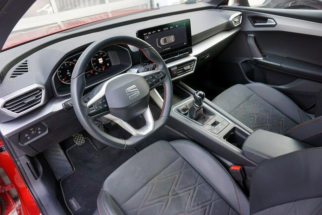 Seat Leon 1.5 TSI 150KM FR Salon Polska 1wł Łódź - zdjęcie 11