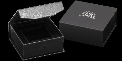 eleganckie czarne pudełko z magnetycznym zamknięciem Wierzbica Górna - zdjęcie 1