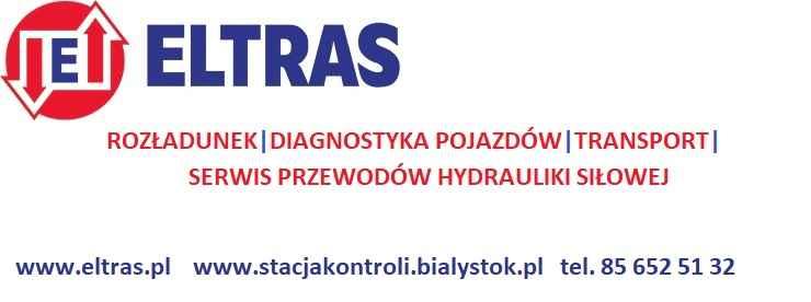 BADANIA TECHNICZNE TRANSPORT ROZŁADUNEK ZAKUWANIE ELTRAS BIAŁYSTOK Białystok - zdjęcie 1
