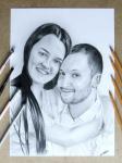 Portrety ze zdjęć na zamówienie format A4 Bukowsko - zdjęcie 5