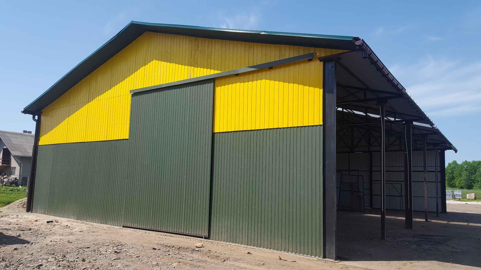 Garaże blaszane, blaszaki, schowki budowlane, kojce,wiaty, hale. Szczecin - zdjęcie 5