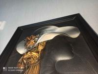 Obrazy ze skory ręcznie robione-kolekcja! Kłobuck - zdjęcie 3