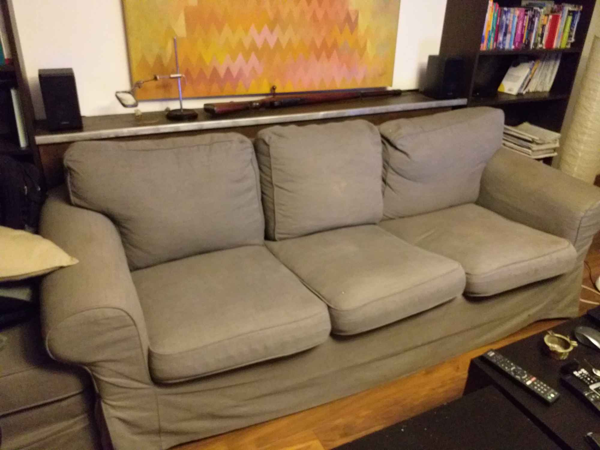 Sofę z Ikei oddam za darmo. Mokotów - zdjęcie 1