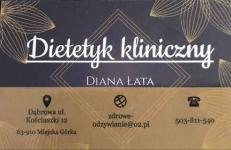 Dietetyk kliniczny Diana Łata Miejska Górka - zdjęcie 2