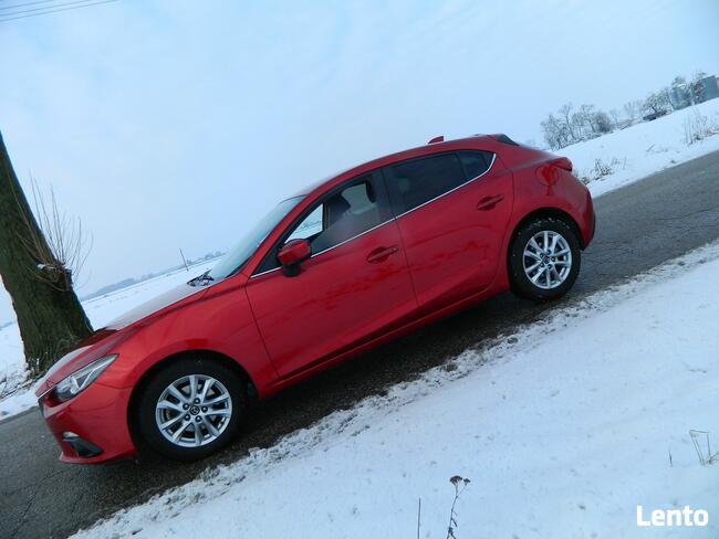 Mazda 3 SKYACTIV-D IDEAŁ Navi Alu Kamera Piotrków Kujawski - zdjęcie 3