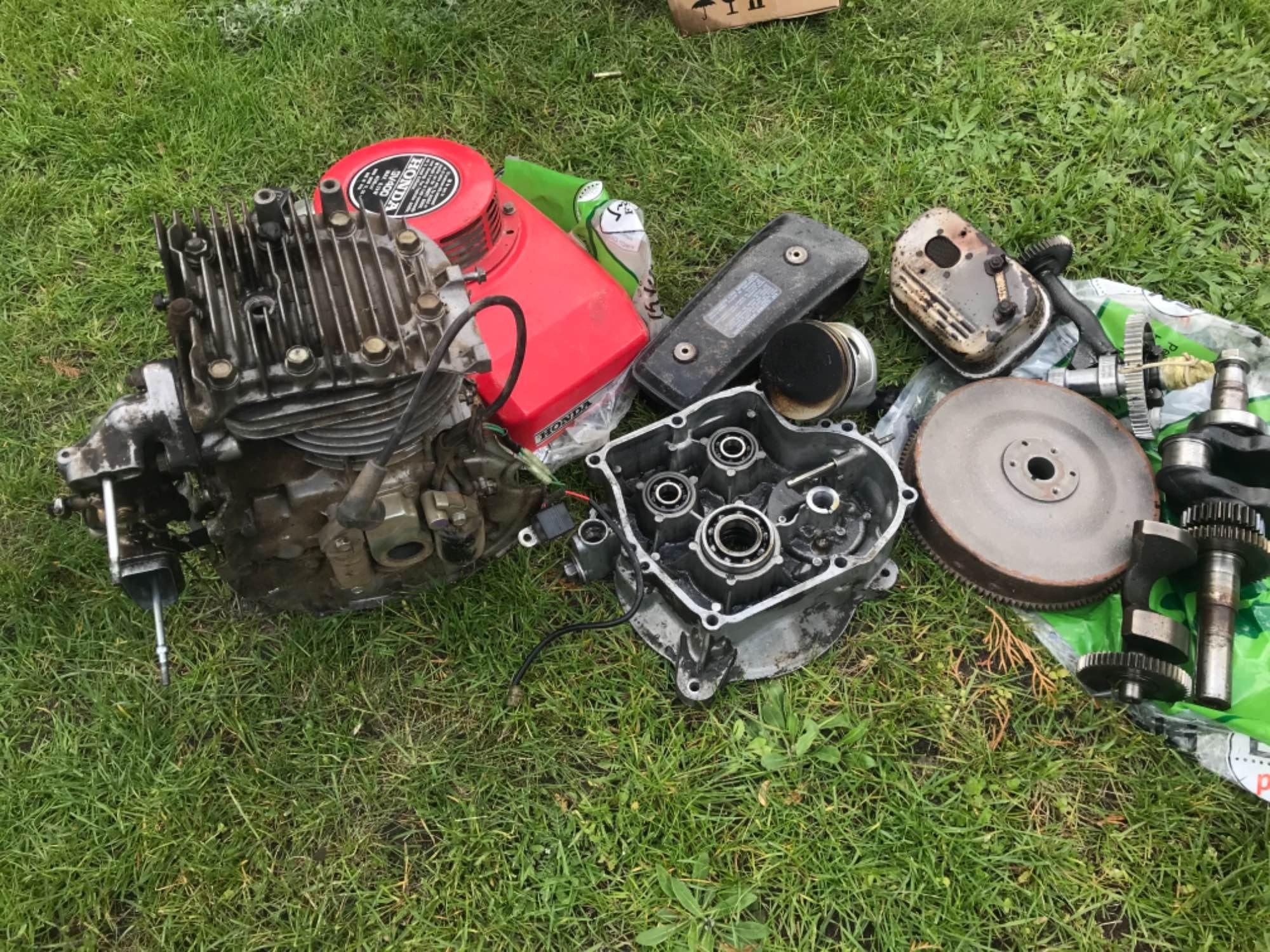 Silnik Honda gv400 Bielsk Podlaski - zdjęcie 5