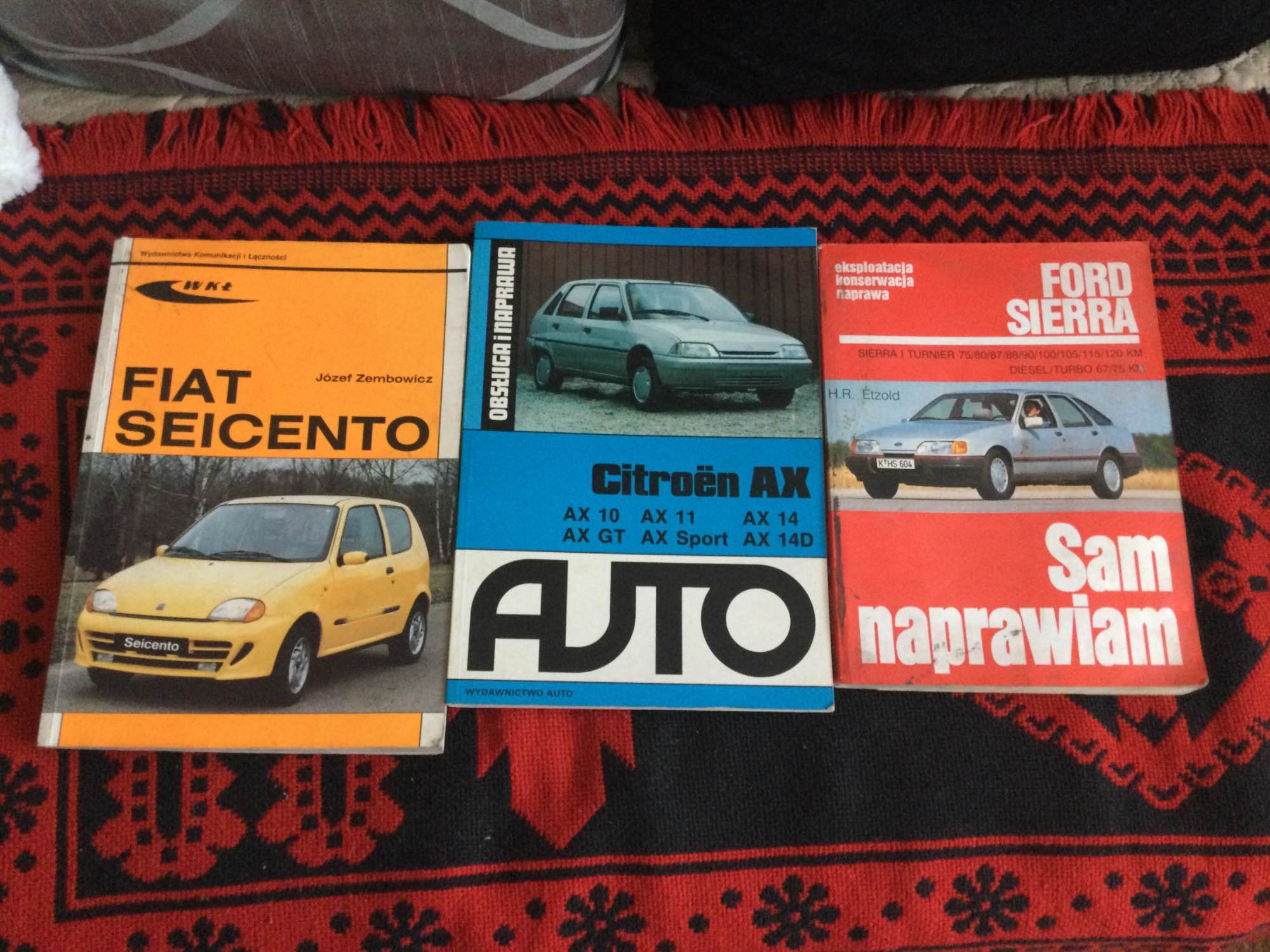 Sprzedam książki sam naprawiam swoje auto Olkusz - zdjęcie 1