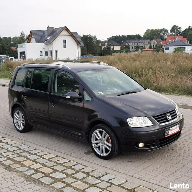 Volkswagen Touran 1.9Tdi*105KM*7 Osób*BKC*Gwarancja*PL-Rej.Rata 295zł Śrem - zdjęcie 6