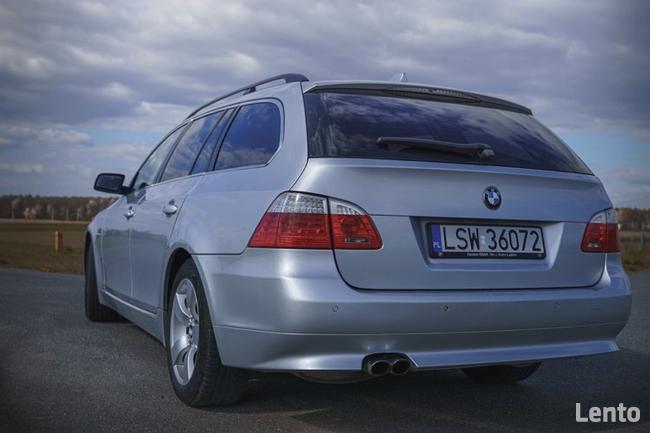 BMW E61 530XD LCI Polift Skóra DVD 4x4 BIXENON Duża navi Led Świdnik - zdjęcie 3