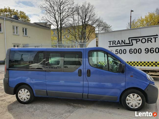 Opel Vivaro 9 osób Long Gdańsk - zdjęcie 6
