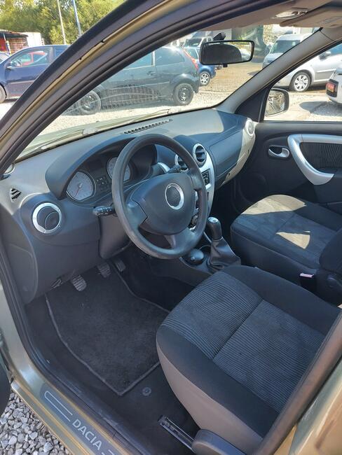 2009 Dacia Sandero 1.6 Benzyna 90 PS 73 tyś KM Nowy Sącz - zdjęcie 7