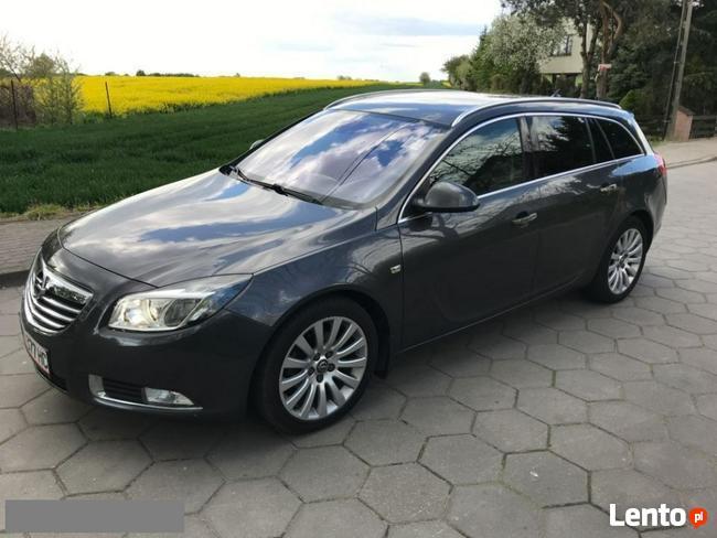 Opel Insignia 2.0Cdti 130Km Xenon Półskóra Serwis Opla Chrom Chodecz - zdjęcie 1