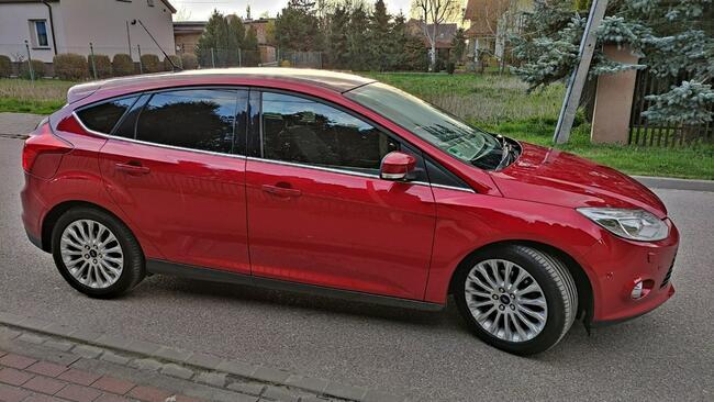 Ford Focus 1.6 Benzyna 182KM TITANIUM Asystent Biksenon Led Błonie - zdjęcie 6