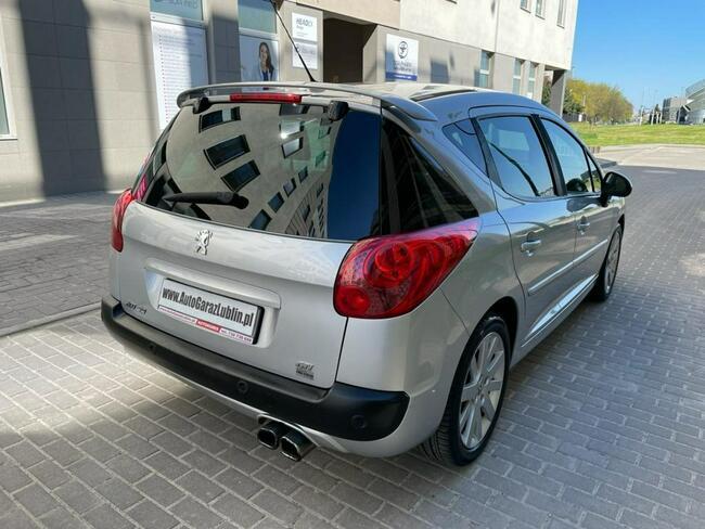 Peugeot 207 SW GTI 1.6T Manual Klima Skóra PDC Lublin - zdjęcie 8