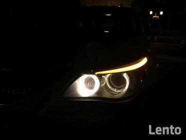 BMW E61 530XD LCI Polift Skóra DVD 4x4 BIXENON Duża navi Led Świdnik - zdjęcie 12