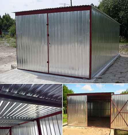 Garaż blaszany 3x5 4x6 6x5 GARAŻE wzmocnione CAŁA POLSKA szybki termin Śródmieście - zdjęcie 11