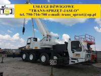Dźwig tel 790716700 usługi dźwigowe Krosno JASŁO dźwigi do 130 ton Krosno - zdjęcie 1