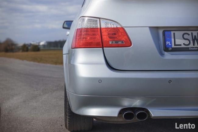 BMW E61 530XD LCI Polift Skóra DVD 4x4 BIXENON Duża navi Led Świdnik - zdjęcie 5
