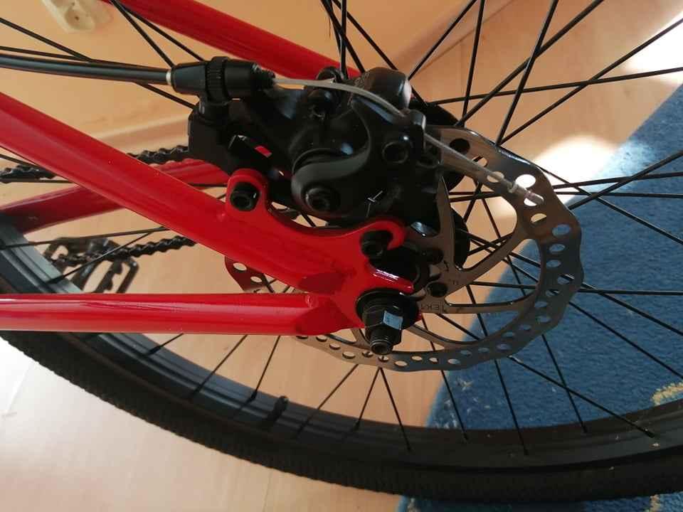 Rower BMX mafiabikes Medusa Czerwony Ustka - zdjęcie 5