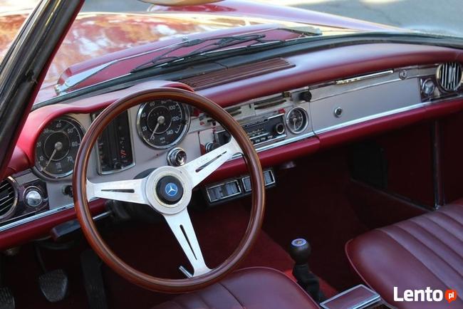 rok 1965 Mercedes-Benz SL230 Pagoda Cabrio Legnica - zdjęcie 5