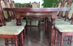 sprzedam meble stylowe do salonu - ciemna wiśnia  połysk Koszalin - zdjęcie 3