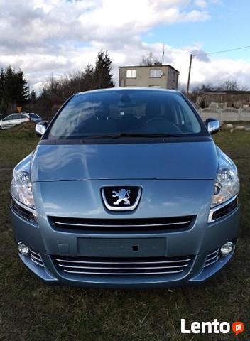 Peugeot 5008 1.6 HDI 110KM 2010r 152 tyś Chojnice - zdjęcie 2