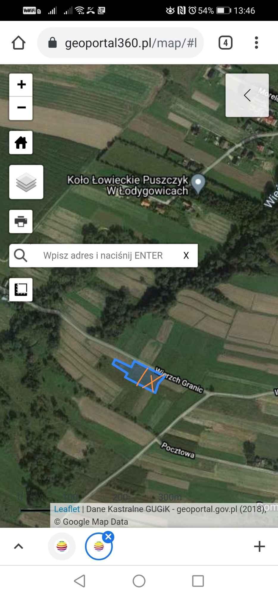Działka budowlana 13 arów plus 3 ary prywatnej drogi dojazdowej Pietrzykowice - zdjęcie 8
