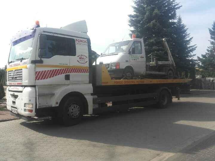 Autoholowanie Poznań- Pomoc drogowa Poznań  Tel 600-960-987 Jeżyce - zdjęcie 1