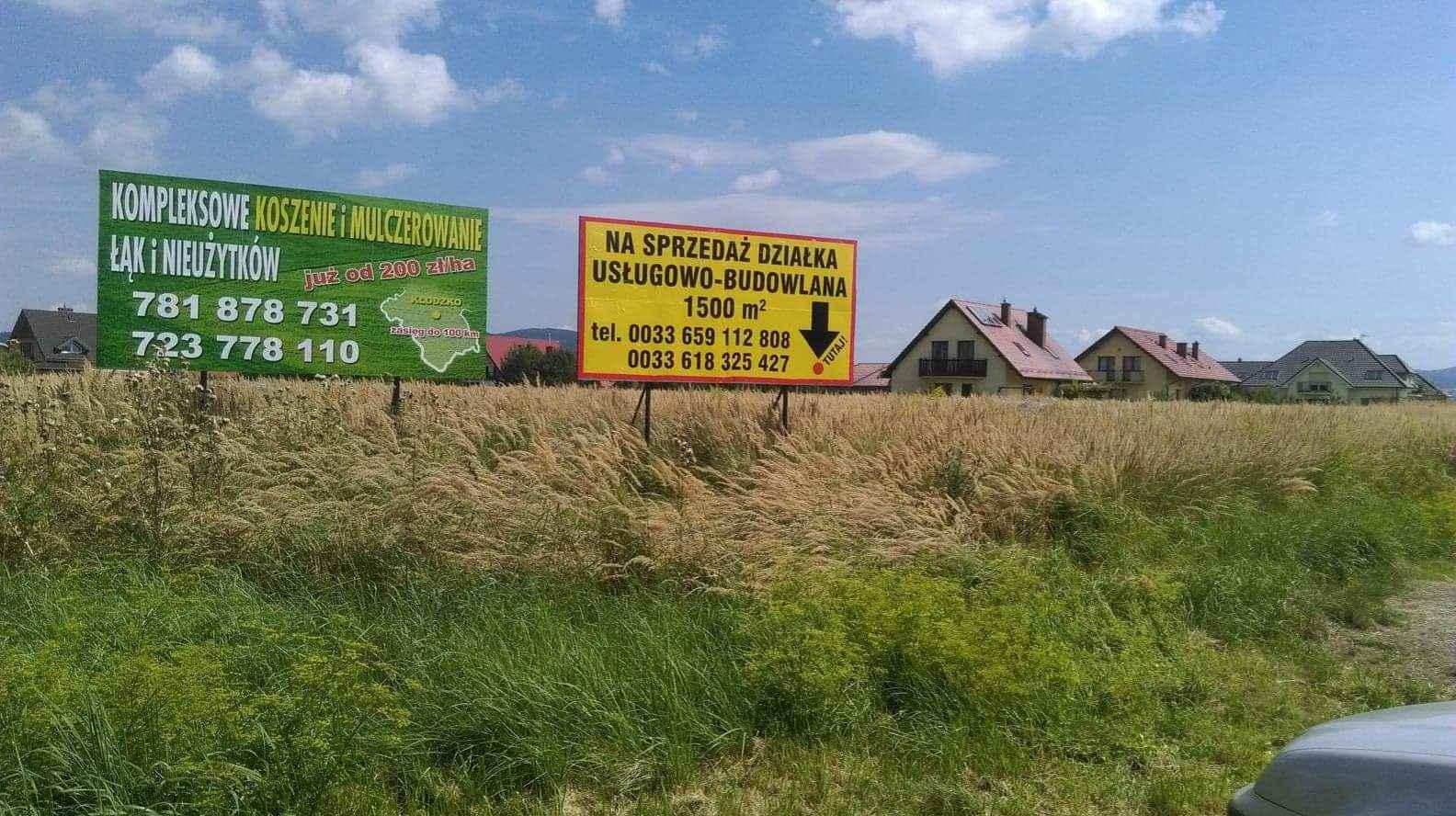 Działka budowlano-usługowa Jaszkowa Dolna - zdjęcie 3
