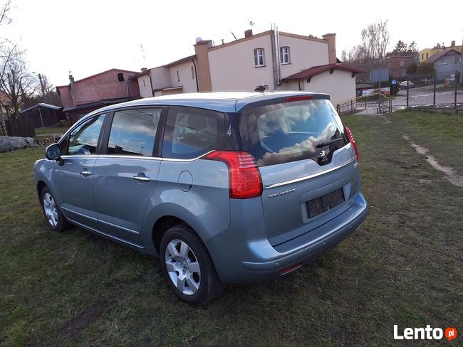 Peugeot 5008 1.6 HDI 110KM 2010r 152 tyś Chojnice - zdjęcie 7