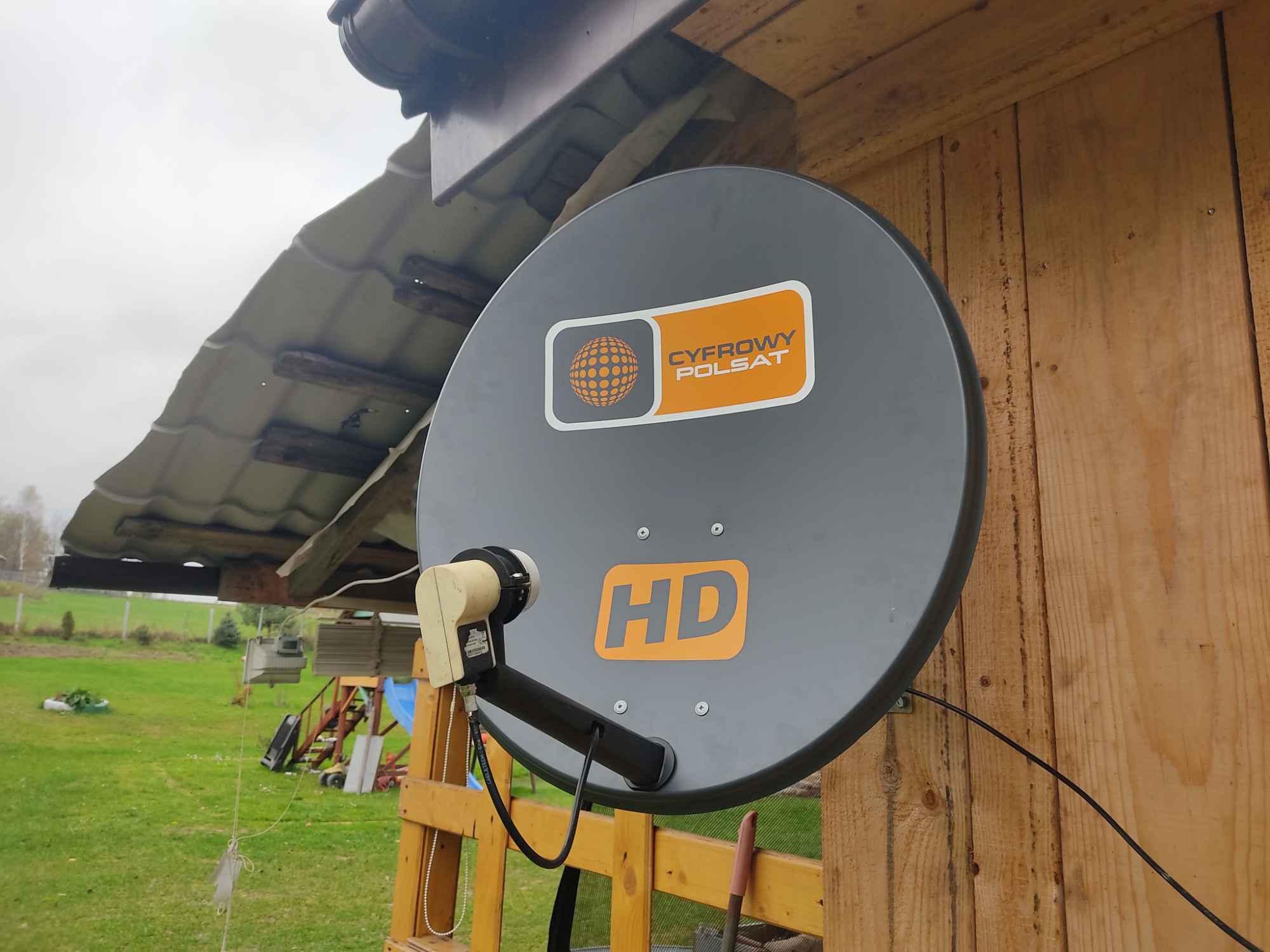 NAPRAWA SERWIS REGULACJA MONTAŻ ANTEN SATELITARNYCH DVB-T 24h Proszowice - zdjęcie 2