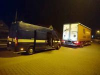 Holowanie tirów, laweta dla samochodów ciężarowych Poznań Jeżyce - zdjęcie 3