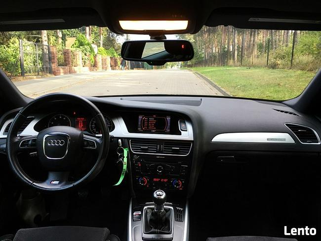 Audi A4 2.0 turbo  211km s-line  quattro xenon skóra alu top Bugaj - zdjęcie 8