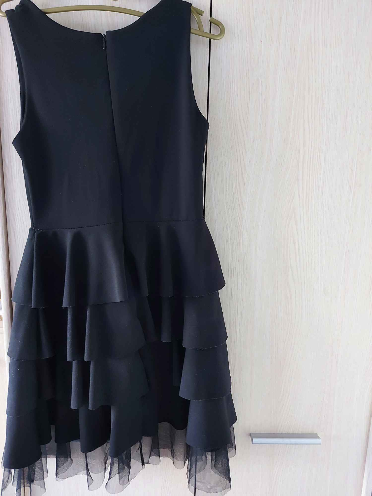 Sukienka czarna Żuromin - zdjęcie 2
