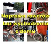 Mobilny serwis rowerowy, Pogotowie rowerowe Warszawa Bielany - zdjęcie 1