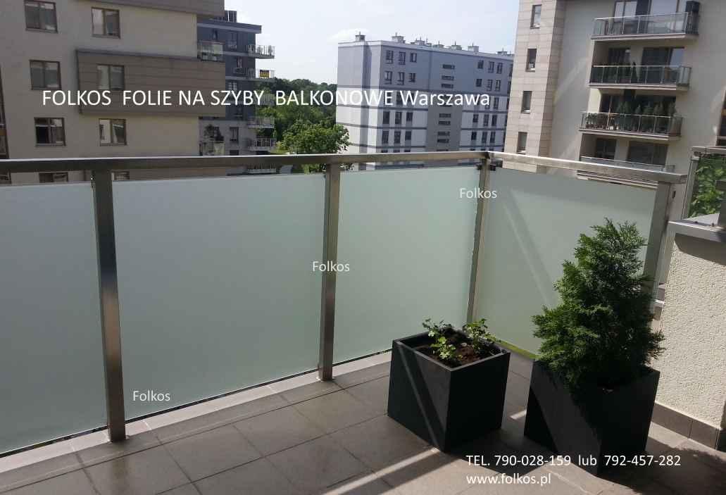 Folie na balkon-Oklejanie balkonów Błonie,Ożarów Mazowiecki i okolice Błonie - zdjęcie 6
