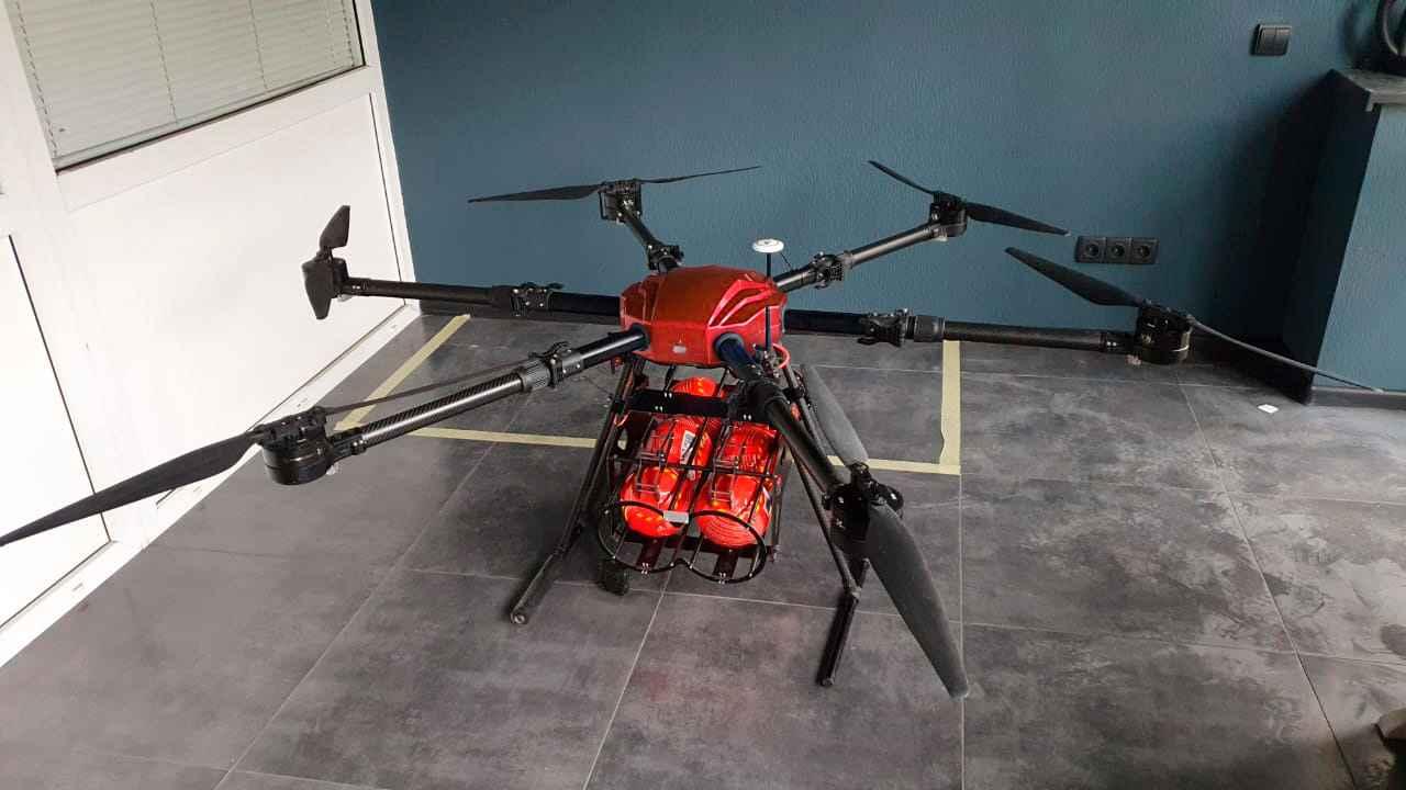 Dron strażacki Reactive Drone RDF-1 Mokotów - zdjęcie 1