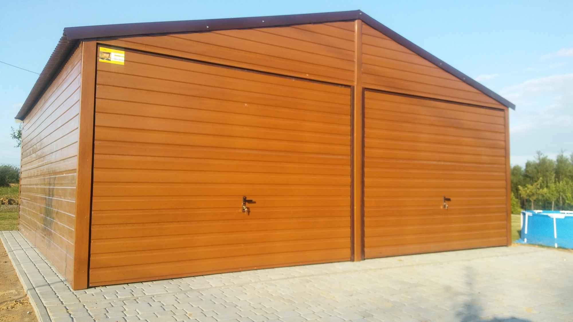 Garaże blaszane, blaszaki, schowki budowlane, kojce,wiaty, hale. Szczecin - zdjęcie 11