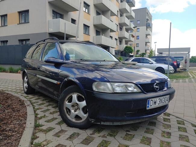 Opel Vectra B 1.6 benz // Klima // Alu // NOWY PRZEGLĄD Psie Pole - zdjęcie 6