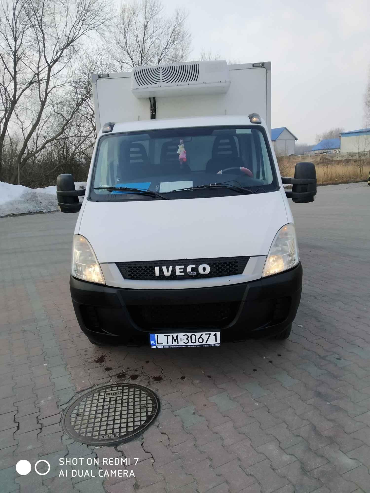 Iveco Daily 35C13 2,3 HPI chłodnia 6/8 euro palet Tomaszów Lubelski - zdjęcie 5
