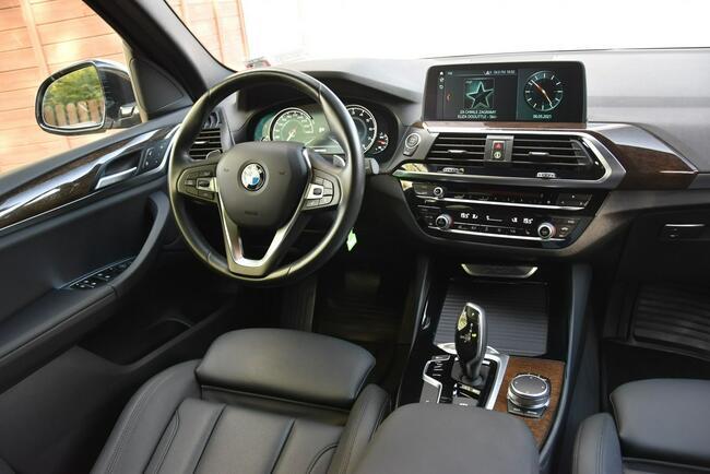 BMW X3 SDrive30i 252KM 2018r. X-line Kamera 3xklima NAVi Panorama Kampinos - zdjęcie 9