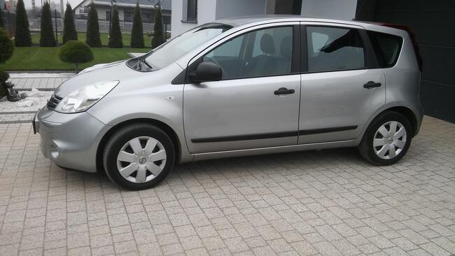 Nissan Note 1,4 benzyna 2011r Salon oryginał Płock - zdjęcie 3