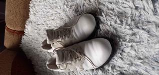 Buty z skury biale adidasa Zabrze - zdjęcie 1