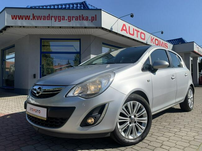 Opel Corsa 100KM Cosmo, Duże radio, Alumy, Salon Polska ,Gwarancja ! Tarnowskie Góry - zdjęcie 9